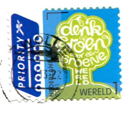 Netherlands - Cat drawing stamps