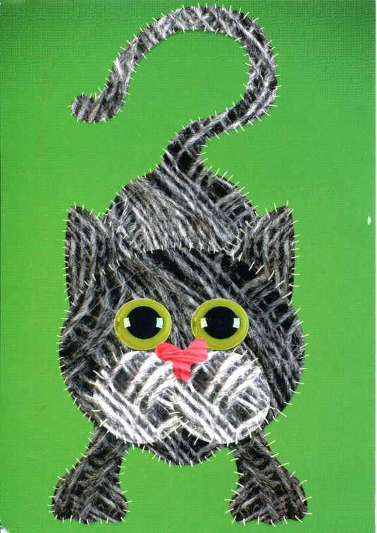 Netherlands - Cat drawing