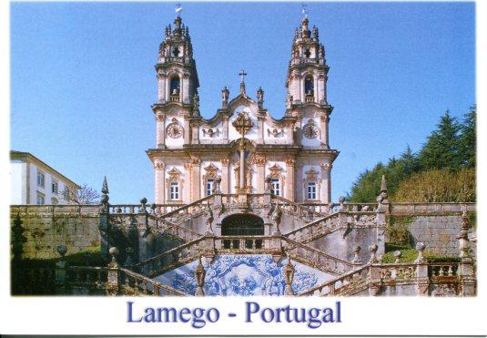 Portugal - Shrine of Nossa Senhora dos Remédios
