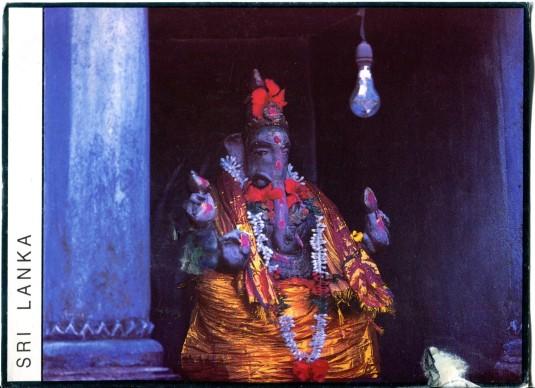 Sri Lanka - Shrine for Ganesh