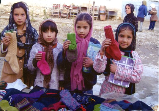 USA - Z - Card from Afghans for Afghans