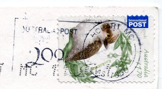 Australia - Banksia marginata stamps