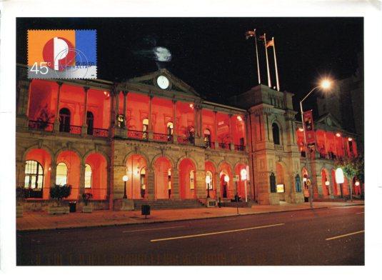 Australia - Brisband GPO and stamp