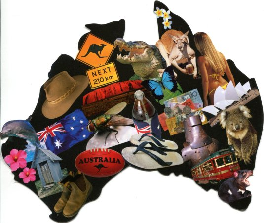 Australia - Map of Images