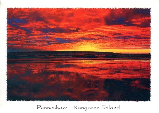 Australia - Sunset at Penneshaw