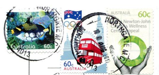 Australia - Toowoomba's Cake stamps
