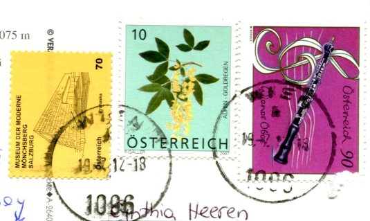 Austria - Train stamps