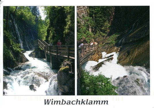 Austria - Wimbachklamm