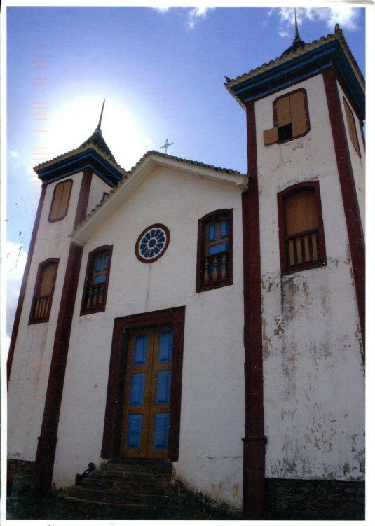Brazil - Chapel of Our Lord of the Good Jesus Matozinhos Serro