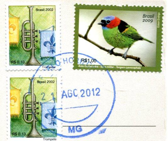 Brazil - Pedra Furada stamps