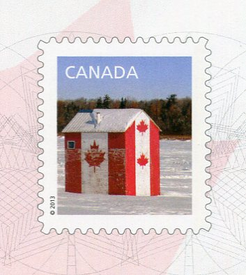 Canada - Ice Fishing Hut stamps