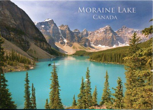 Canada - Moraine Lake, Banff