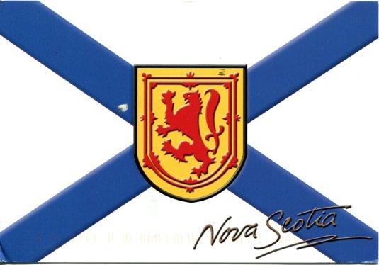 Canada - Nova Scotia - Flag