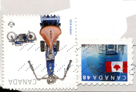 Canada - RCMP stamps