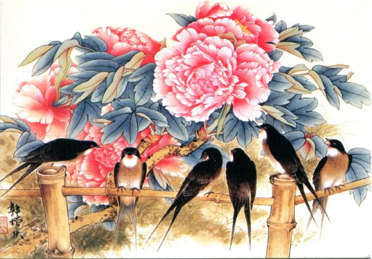 China - Birds and Flowers
