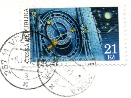 Czech Republic - Vltava stamps