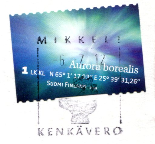 Finland - Goat stamps