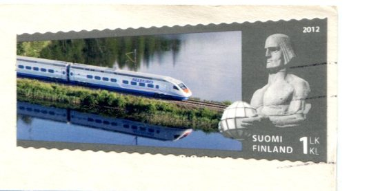 Finland - Kaitaisten bridge stamps