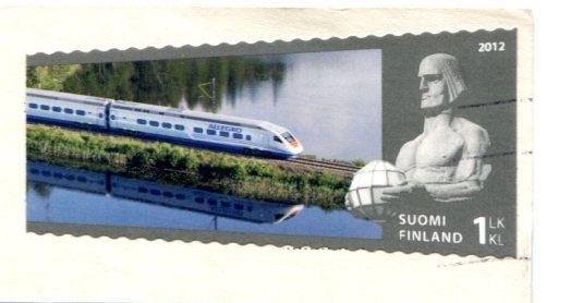 Finland - Kaitaisten bridge stamps