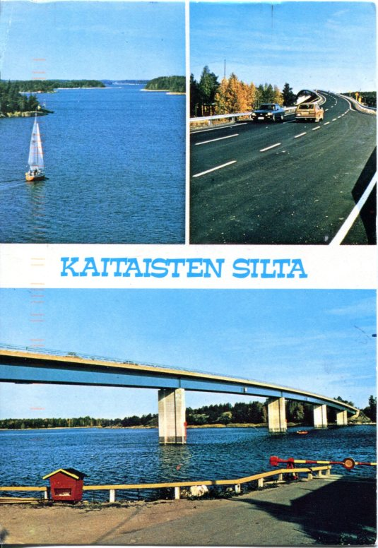 Finland - Kaitaisten bridge