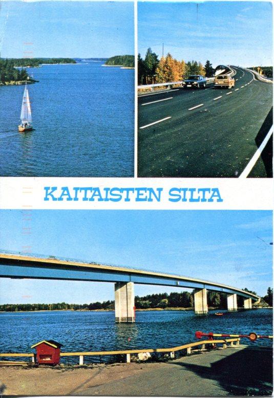Finland - Kaitaisten bridge