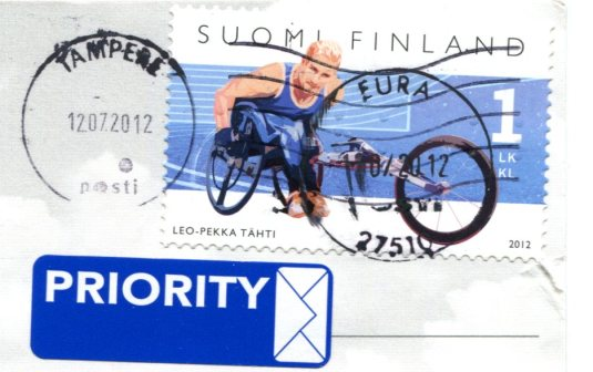 Finland - Map stamps
