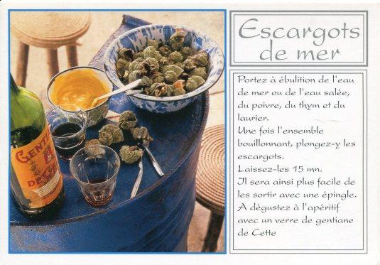 France - Escargots de mer