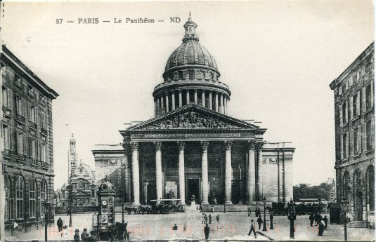 France - Paris Pantheon