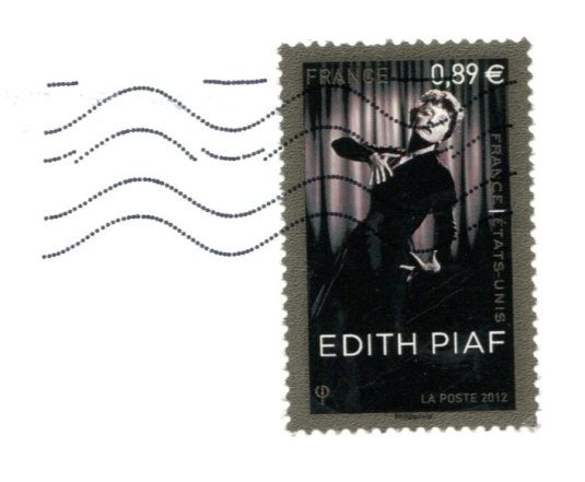 France - Statue of Liberty stamps