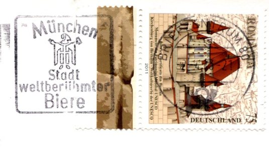 Germany - Berlin Church stamps