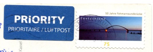 Germany - Bridge stamps