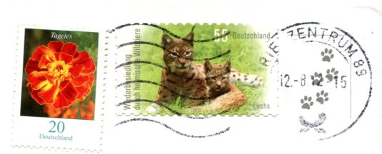 Germany - Cats Singing stamps
