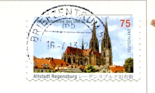 Germany - Coast of Northern Sea stamps