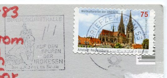 Germany - Cologne at night stamps