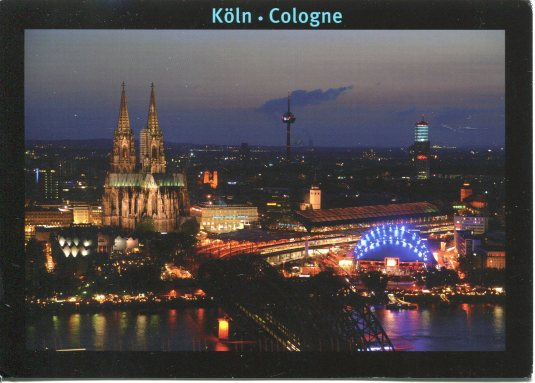 Germany - Cologne at night