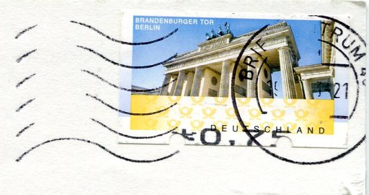 Germany - Duisburg multi stamps