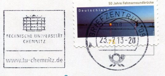 Germany - Full Moon in the Trees stamps