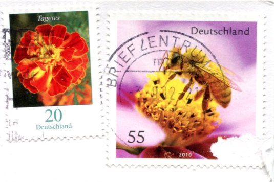 Germany - Lamb stamps