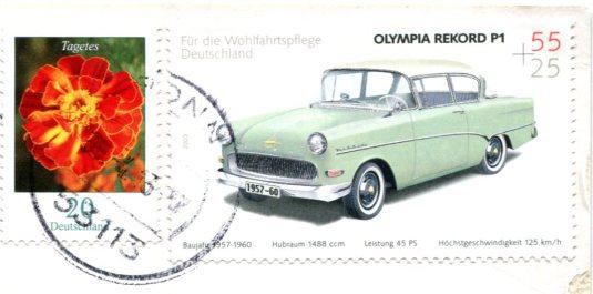 Germany - Messerschmitt stamps