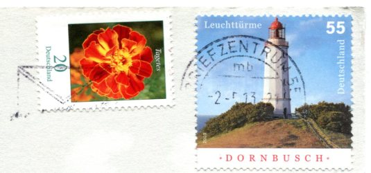 Germany - Seefeuer LH stamps