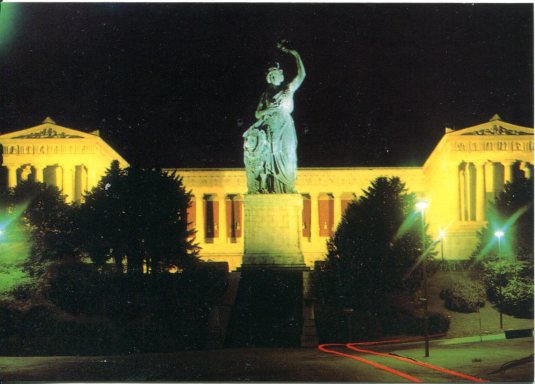 Germany - Statue of Bavaria and Hall of Fame