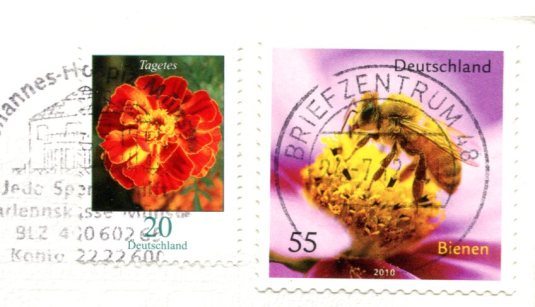 Germany - The Berlin Walln stamps
