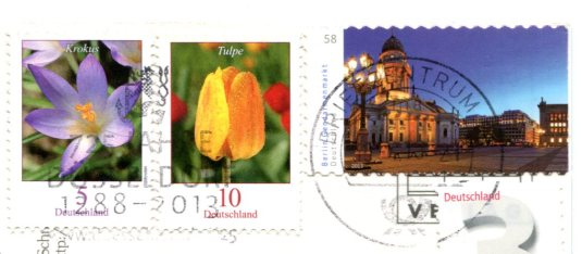 Germany - Trad dress of Black Forest stamps