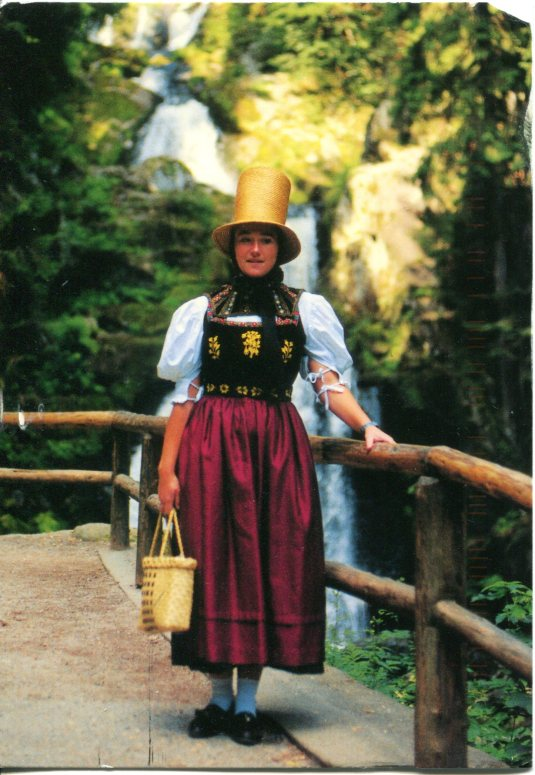 Germany - Trad dress of Black Forest