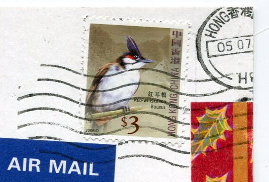 Hong Kong - Collage stamps
