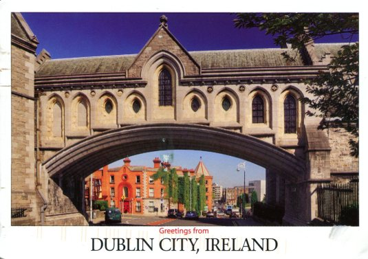 Ireland - Bridge at the Christ Church Cathedral