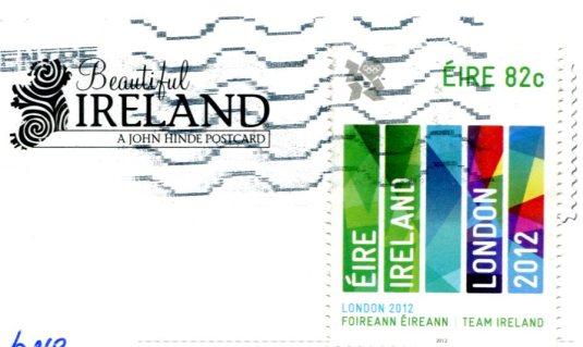 Ireland - street scene stamps
