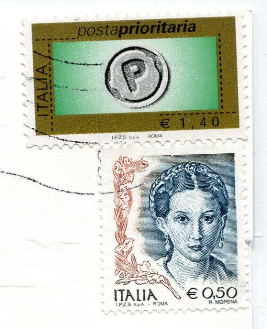Italy - Milan stamps
