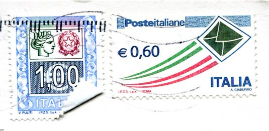 Italy - St Mark's Square stamps