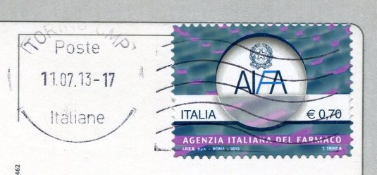 Italy - Torina Piazza Castello stamps